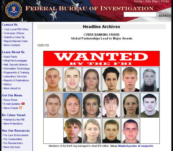 СБУ затримала організаторів міжнародного хакерського угрупування