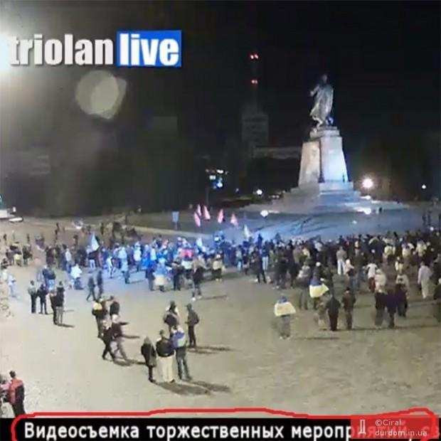 Падіння Леніна у Харкові: повна колекція фотожаб та пародій
