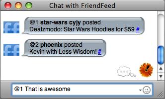 Тепер оновлення в RSS можна отримувати на GTalk чи ICQ: новий функціонал FriendFeed