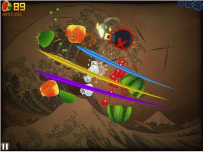 Fruit Ninja заробляє на рекламі $400 тис щомісяця