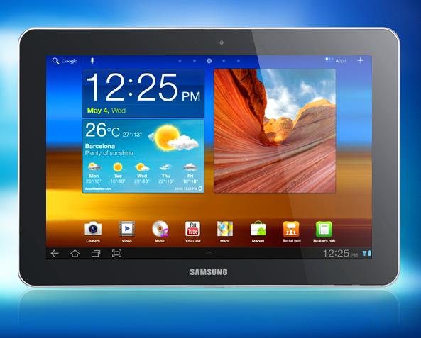 Apple заблокувала продажі Samsung Galaxy Tab в Європі