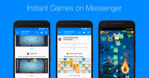 Facebook запустив ігри у Messenger по всьому світу