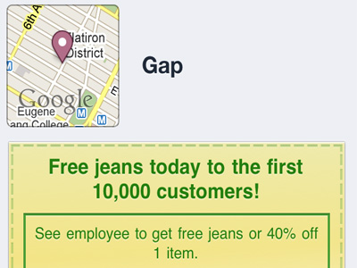 Gap безкоштовно роздав 10000 пар джинсів через Facebook