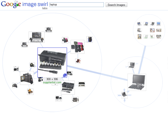 Image Swirl   візуальний пошук від Google