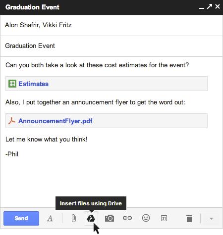 Як в Gmail відправити лист розміром до 10 Гб