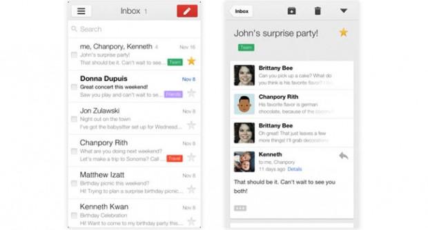 Новий додаток Gmail для iOS підтримує кілька екаунтів