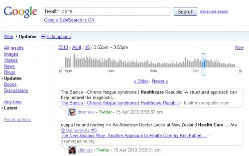 Google анонсував дві новинки для користувачів Твітера
