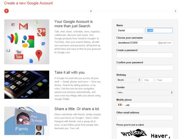 Google примушує нових користувачів реєструватися в Gmail та Google+