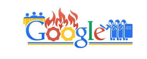 Google doodle про події на Грушевського