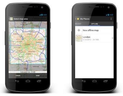 Карти Google для Android відтепер доступні в Україні в офлайн режимі