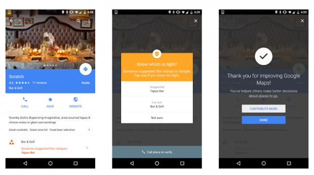 Користувачам Google Maps дозволили змінювати і додавати інформацію безпосередньо в додатку