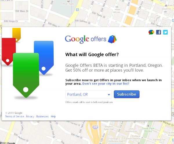 Google запустив конкурента Groupon