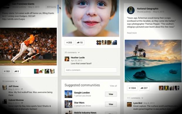 Кардинальна зміна дизайну Google+ та нові фічі