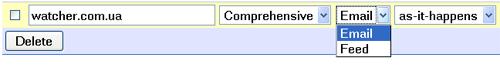 Google нарешті додав RSS потоки для Google Alerts