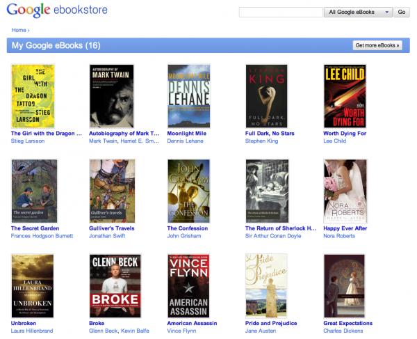Google запустив книжковий інтернет магазин