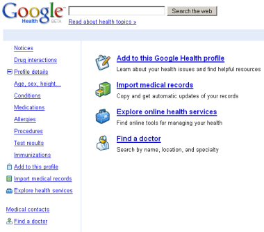 Google закриє проект Google Health