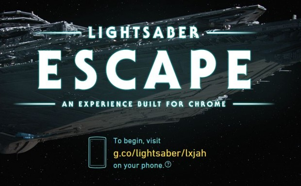 Google створив гру Star Wars, яка перетворює ваш смартфон в світловий меч джедая