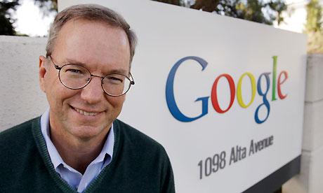 Ерік Шмідт: українська влада намагалася отримати в Google дані про користувачів