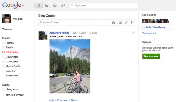 Google запустив конкурента Facebook
