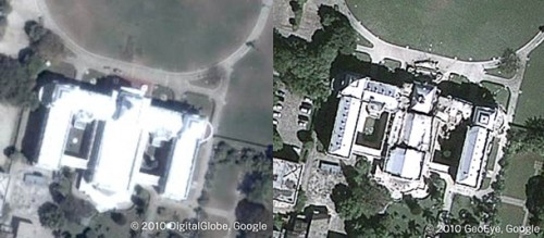 Google Earth показав зруйноване землетрусом Гаїті