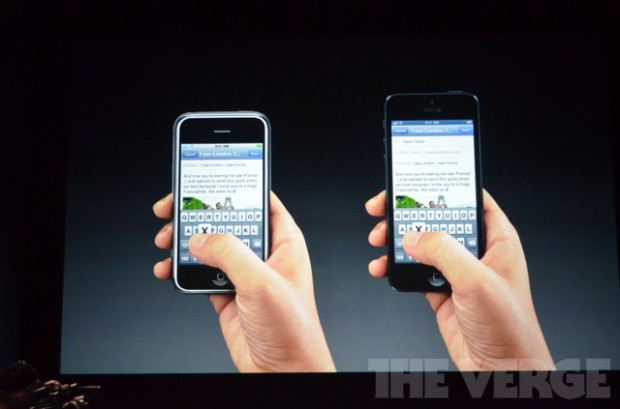 Apple показала новий смартфон iPhone 5