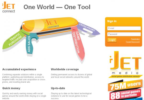 i Jet Media запустила платформу для публікації та монетизації ігор в соцмережах