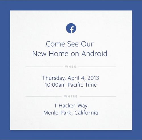 Facebook презентує «новий дім на Android» наступного тижня