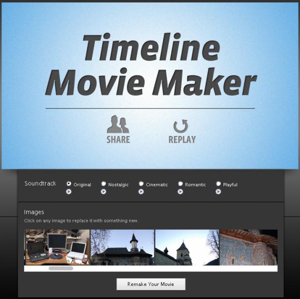 Як перетворити Facebook Timeline на кіно