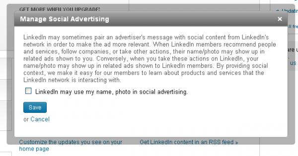 Як заборонити LinkedIn використовувати вашу приватну інформацію