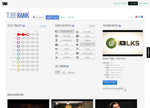 Новий додаток TubeRank допоможе зробити ваше відео вірусним