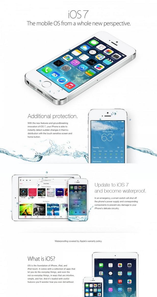 Через фейкову рекламу iOS7 втонуло багато iPhone'ів