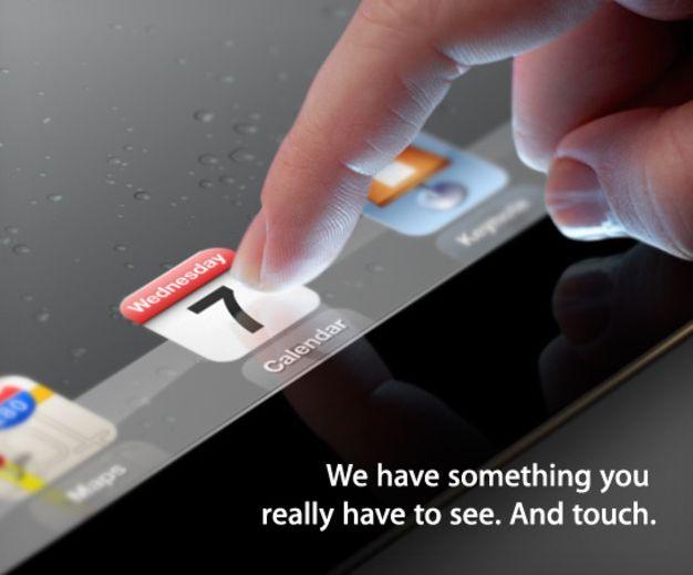 Apple презентує новий iPad 7 березня