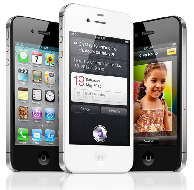 Apple продала 4 млн iPhone 4S за перший уікенд