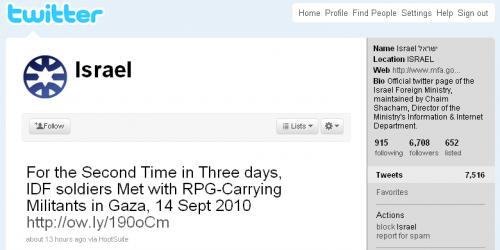 Ізраїль придбав твітер екаунт @israel у власника порносайту