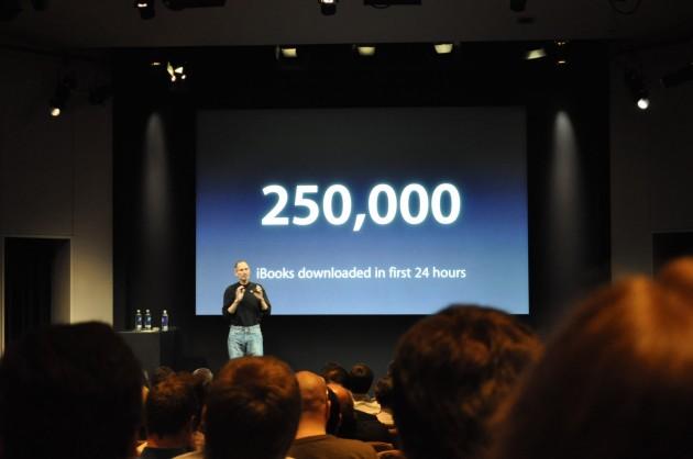Apple вже продав 450 тис. iPad'ів та 50 млн. iPhone'ів