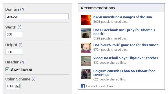 Facebook презентував інструменти інтеграції з сайтами