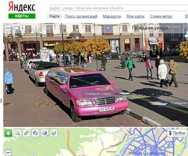 9 найнезвичайніших ситуацій на Яндекс.Панорамах