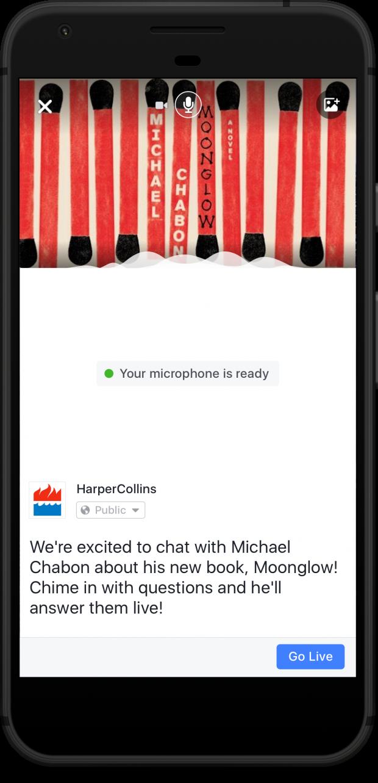 Facebook запускає сервіс звукових трансляцій Live Audio