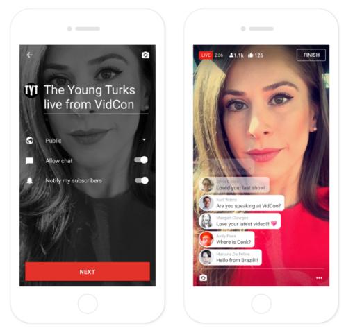 YouTube запустив функцію онлайн трансляції зі смартфону
