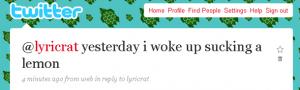 LyricRat музичний стартап в Твітері. Проривна ідея