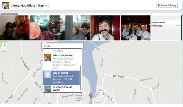 Як додати фото з Facebook на карту