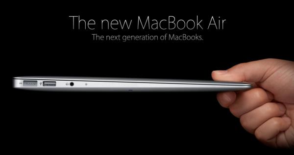 Apple показала Mac OS X Lion i новий Macbook Air