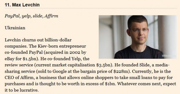 2 з 11 найвидатніших ІТ підприємців Європи – з України