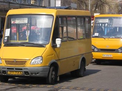 В Києві заборонили маршрутки без GPS