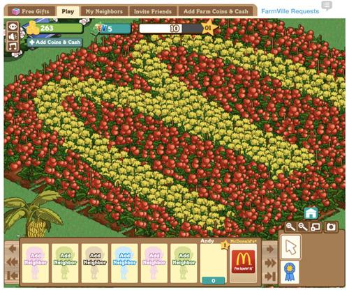 McDonald's зайнявся фермерством у Facebook