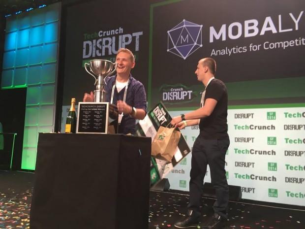 Український проект виграв престижний конкурс стартапів на TechCrunch Disrupt