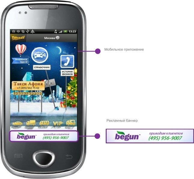 «Бегун» додав банери до мобільної реклами