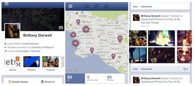 Інтерфейс Facebook Timeline запустили для користувачів Android