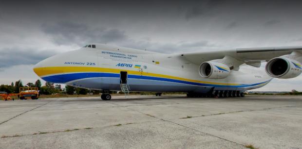 «Антонов» запустив 3D тур по салону найбільшого в світі літака українського виробництва