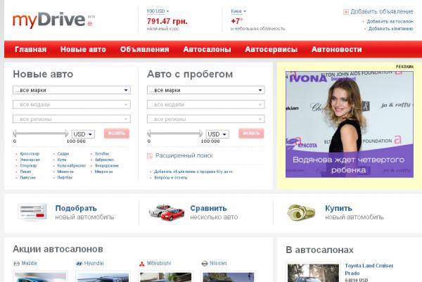 KP Media запустив автопортал MyDrive